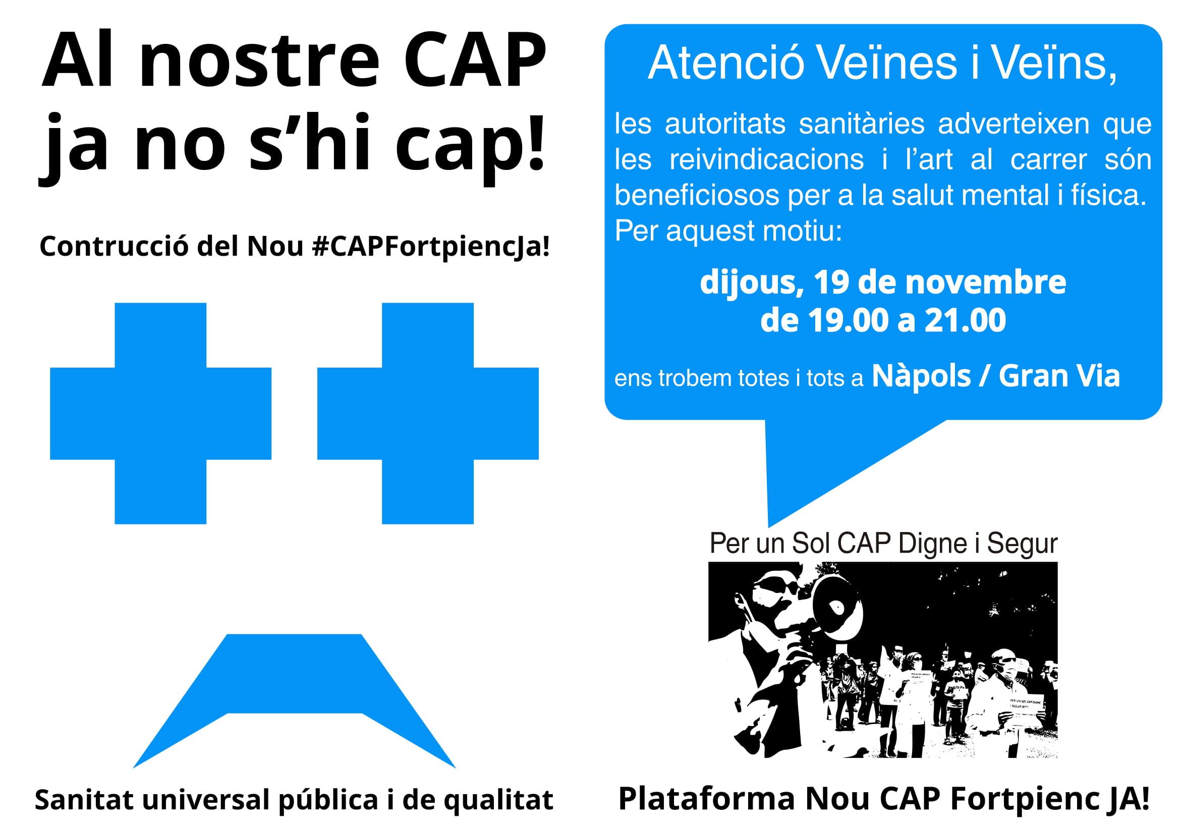 Read more about the article Al nostre CAP ja no s'hi cap!