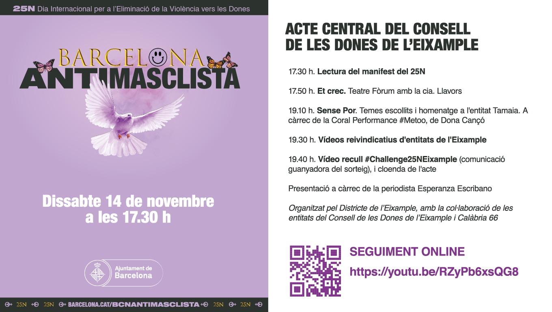 Read more about the article Acte central del Consell de les Dones de l'Eixample